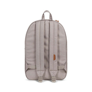 Herschel Supply Co. - Heritage Backpack, Light Khaki Crosshatch/Shadow/Brick Red/Tan - The Giant Peach