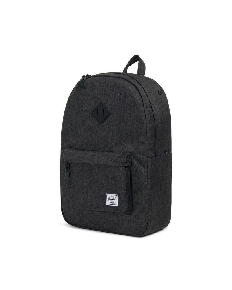 Herschel Supply Co. - Heritage Backpack, Black Crosshatch/Black