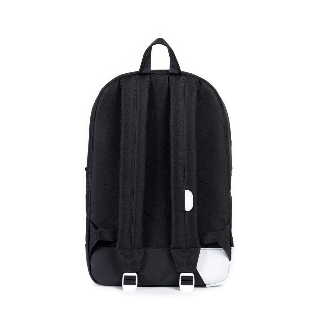 Herschel Supply Co. - Heritage Backpack, Black/White Print - The Giant Peach