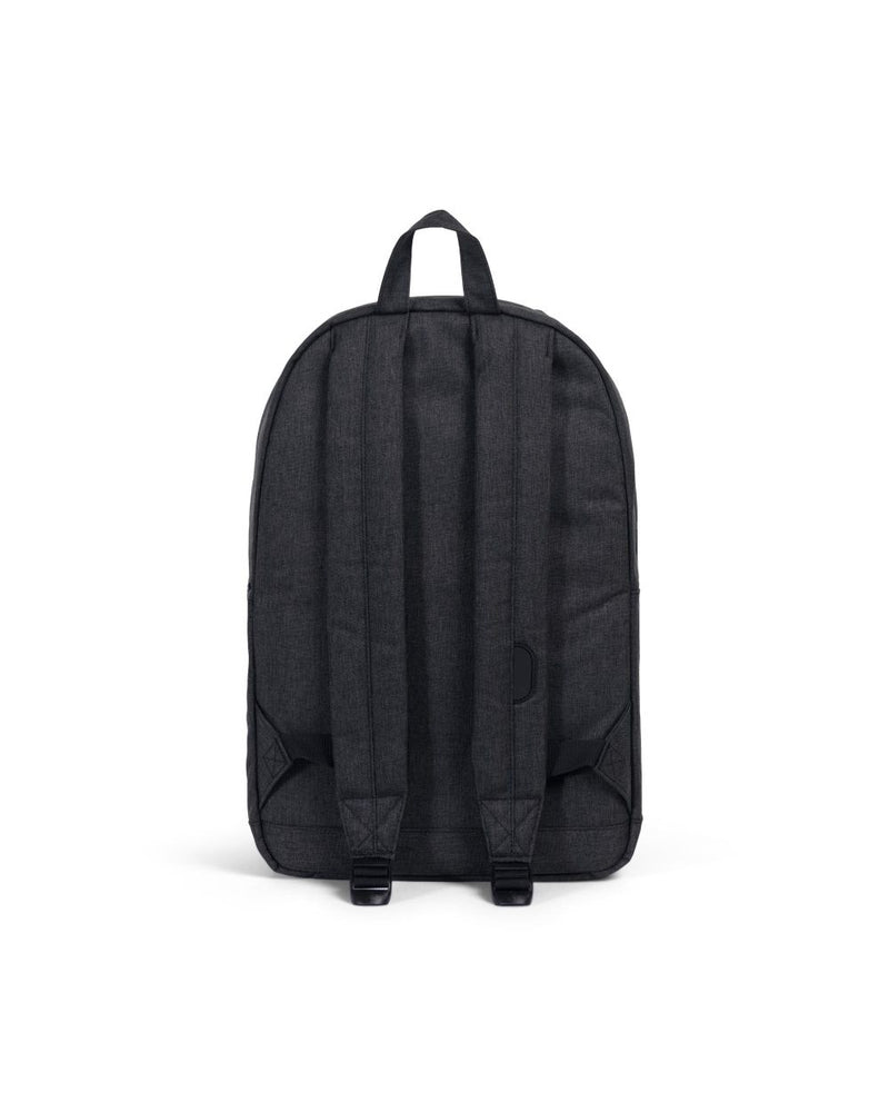 Herschel Supply Co. - Pop Quiz Backpack, Black Crosshatch/Black Rubber