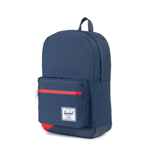 Herschel Supply Co. - Pop Quiz Backpack, Navy / Red Offset - The Giant Peach