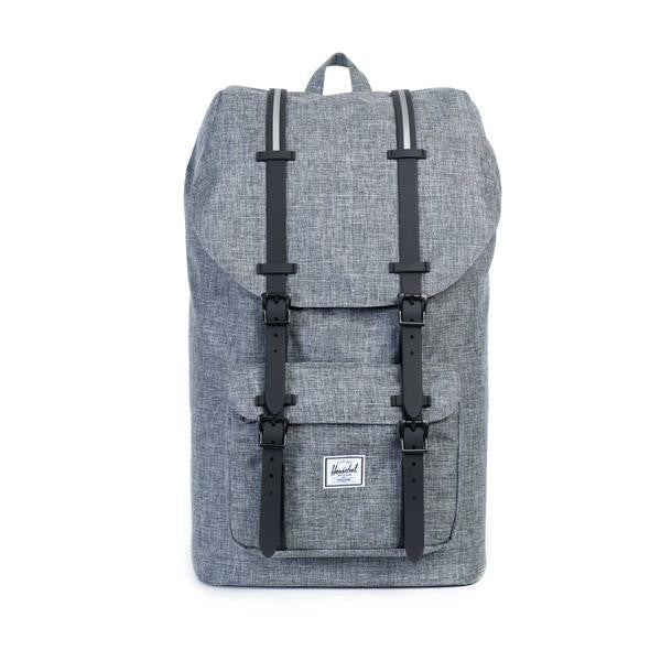 Herschel Supply Co. - Little America Backpack, Raven Crosshatch - The Giant Peach