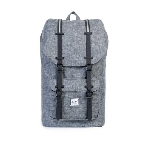 Herschel Supply Co. - Little America Backpack, Raven Crosshatch