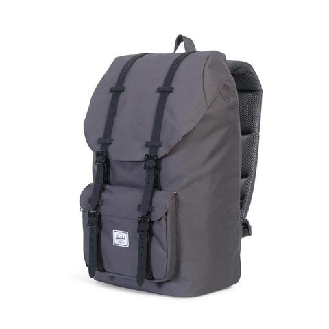 Herschel Supply Co. - Little America Backpack, Charcoal/Blk Native Rubber