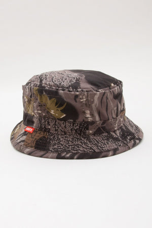OBEY - Uplands Bucket Hat, Tree Camo - The Giant Peach