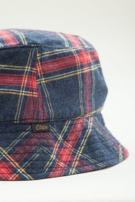 OBEY - Glasgow Bucket Hat, Navy - The Giant Peach - 2
