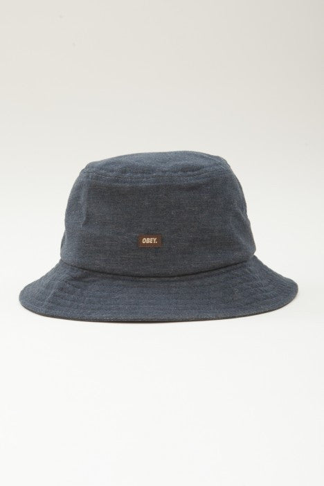 OBEY - Grandeur Bucket Hat, Navy - The Giant Peach - 1