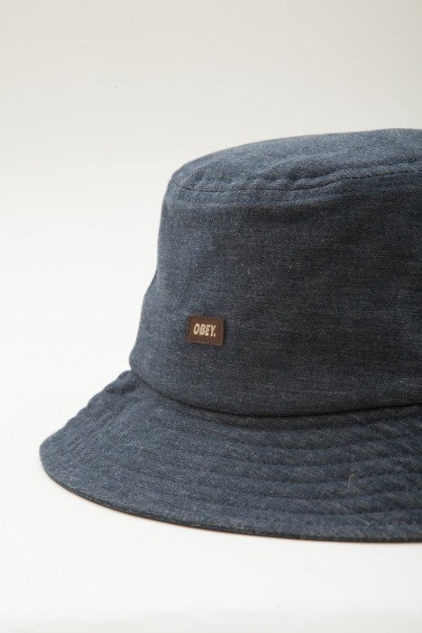 OBEY - Grandeur Bucket Hat, Navy - The Giant Peach - 2