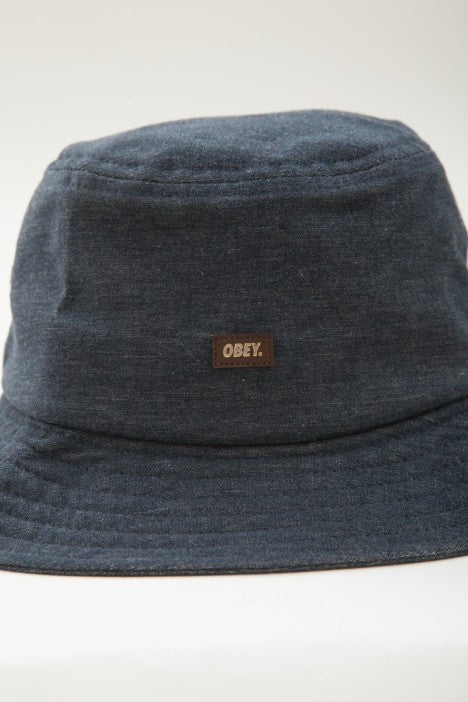 OBEY - Grandeur Bucket Hat, Navy - The Giant Peach - 3