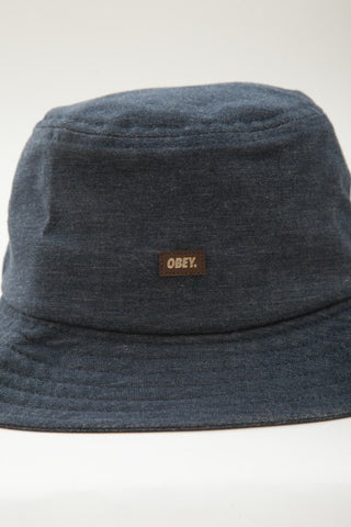 OBEY - Grandeur Bucket Hat, Navy