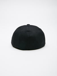 OBEY - Wilson Flexfit Men's 6 Panel Hat, Black - The Giant Peach