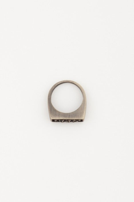 OBEY - Boney Ring, Antique Brass - The Giant Peach