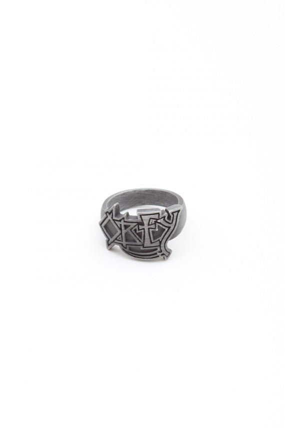 OBEY - Death Ring, Silver Oxidize - The Giant Peach
