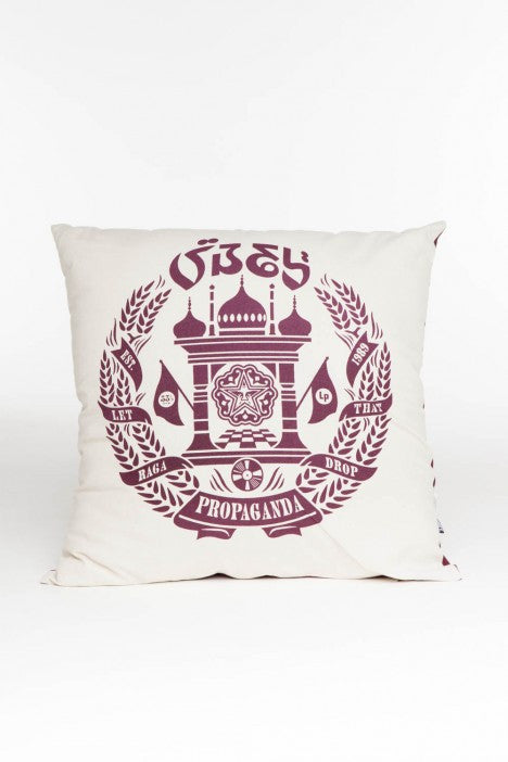 OBEY - Raga Drop Pillow, Cream - The Giant Peach