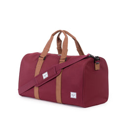 Herschel Supply Co. - Novel Duffle, Windsor Wine/Tan - The Giant Peach