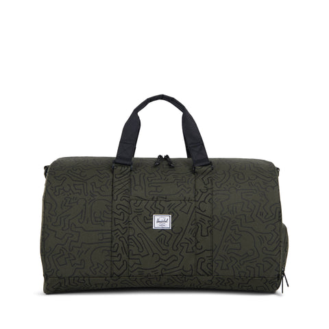 Herschel Supply Co. x Keith Haring - Novel Duffle, Forest Night - The Giant Peach