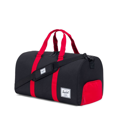 Herschel Supply Co. - Novel Duffle, Black/Scarlet