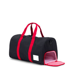 Herschel Supply Co. - Novel Duffle, Black/Scarlet - The Giant Peach