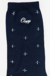 OBEY - Notori Men's Socks, Indigo Multi - The Giant Peach