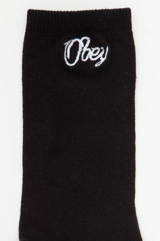 OBEY - Chester Men's Socks, Black
