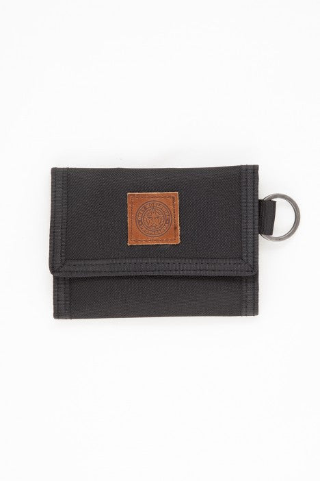 OBEY - Revolt Tri-Fold Wallet, Black - The Giant Peach - 1