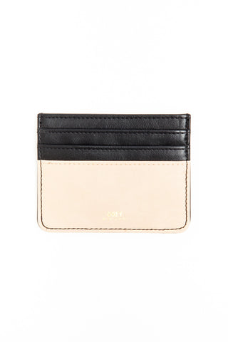 OBEY - Gentry Deuce ID Wallet, Black/Tan