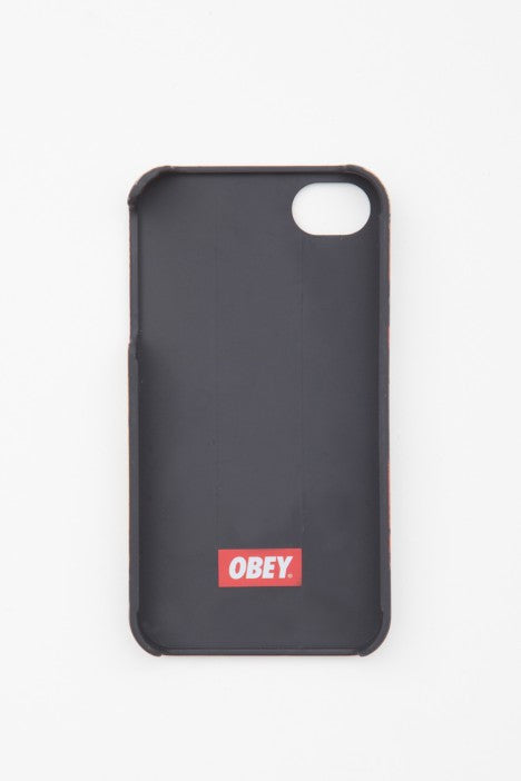 Obey - Trademark Cellphone Case for iphone 4/4S - The Giant Peach - 2