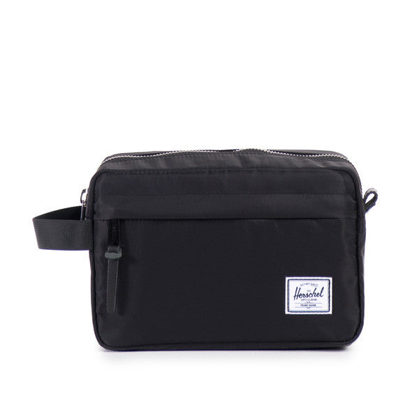 Herschel Supply Co - Chapter Travel Kit, Black Nylon - The Giant Peach - 1