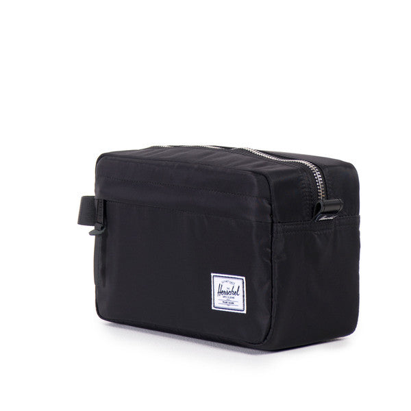 Herschel Supply Co - Chapter Travel Kit, Black Nylon - The Giant Peach - 2