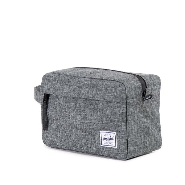 Herschel Supply Co -  Chapter Travel Kit, Raven Crosshatch - The Giant Peach