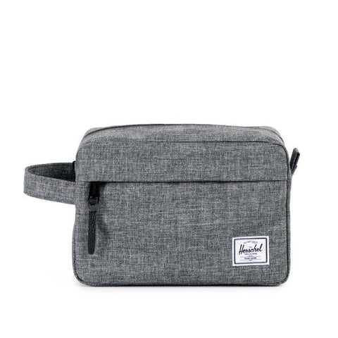 Herschel Supply Co -  Chapter Travel Kit, Raven Crosshatch
