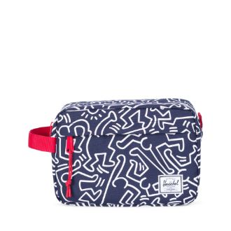 Herschel Supply Co. x Keith Haring -  Chapter Travel Kit, Peacoat - The Giant Peach