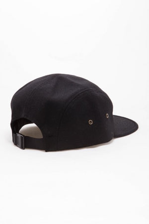 OBEY - Flurry Men's 5 Panel Hat, Black - The Giant Peach