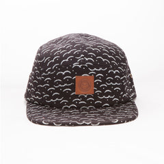 OBEY - Cliffside Men's 5 Panel Hat, Black Multi - The Giant Peach - 2