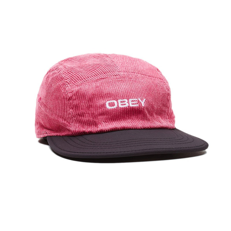 OBEY - Icon Reversible 5 Panel Hat, Black Multi