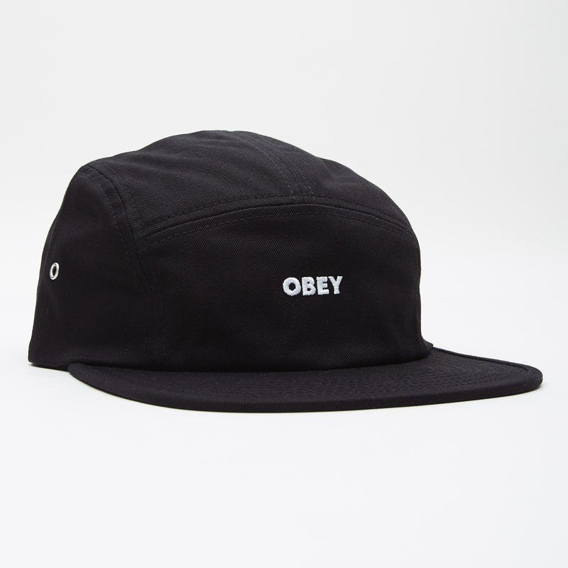 OBEY - Future 5 Panel Hat, Black