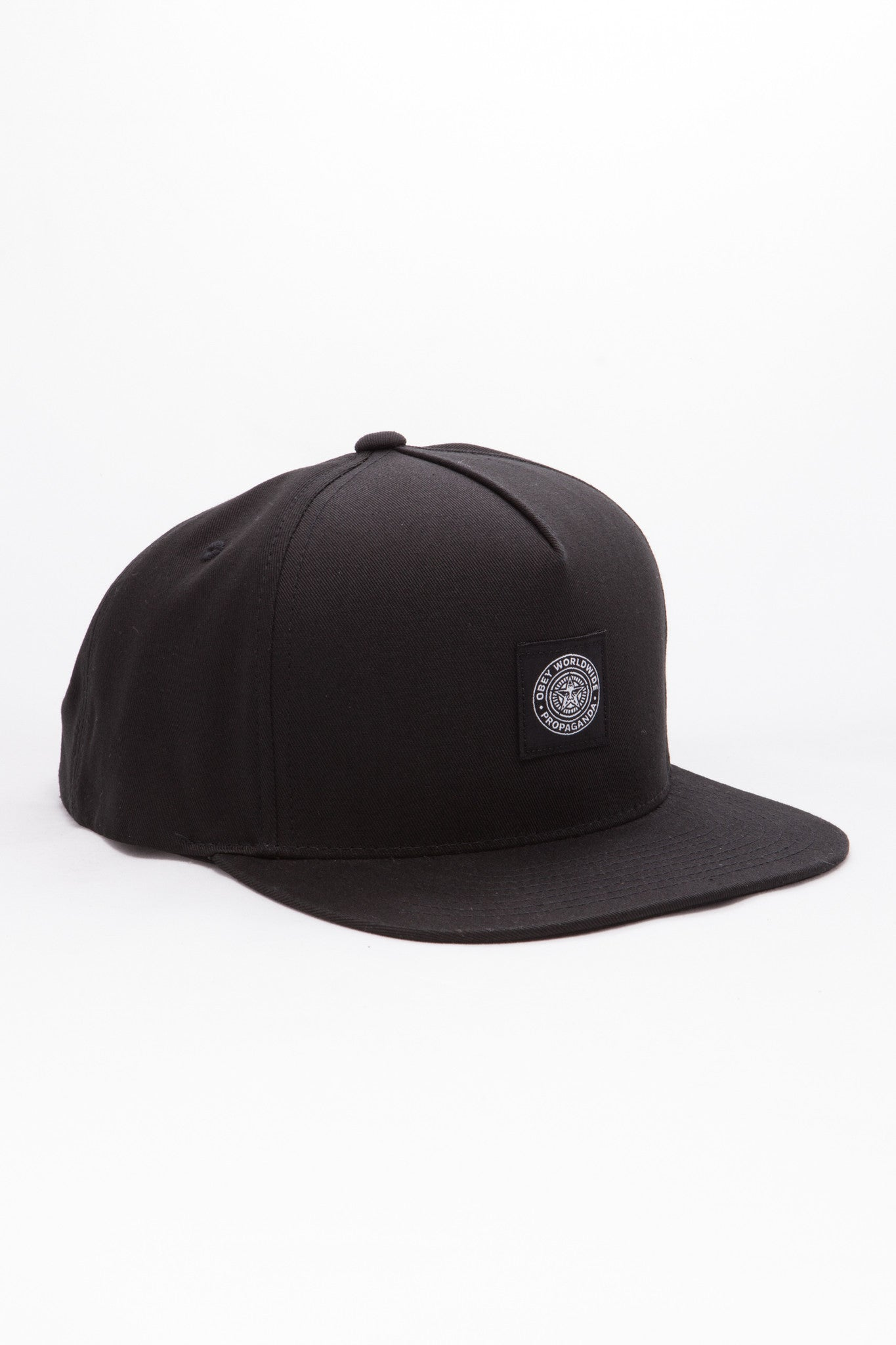 OBEY - Downtown Men's Snapback, Black - The Giant Peach