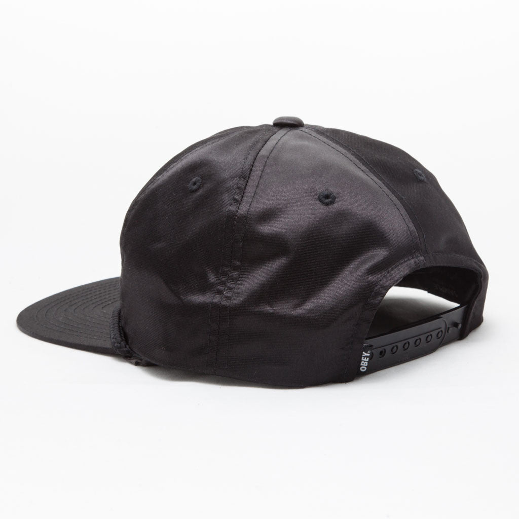 OBEY - Mira Rosa Men's Hat, Black - The Giant Peach - 3