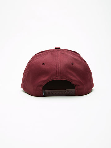 OBEY - Classic Patch Men's Snapback, Burgundy