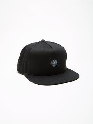 OBEY - Worldwide Seal Men's Snapback, Black - The Giant Peach