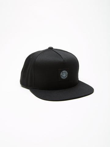 OBEY - Worldwide Seal Men's Snapback, Black