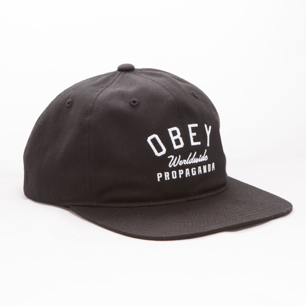 OBEY - Friday Men's Hat, Black - The Giant Peach - 1