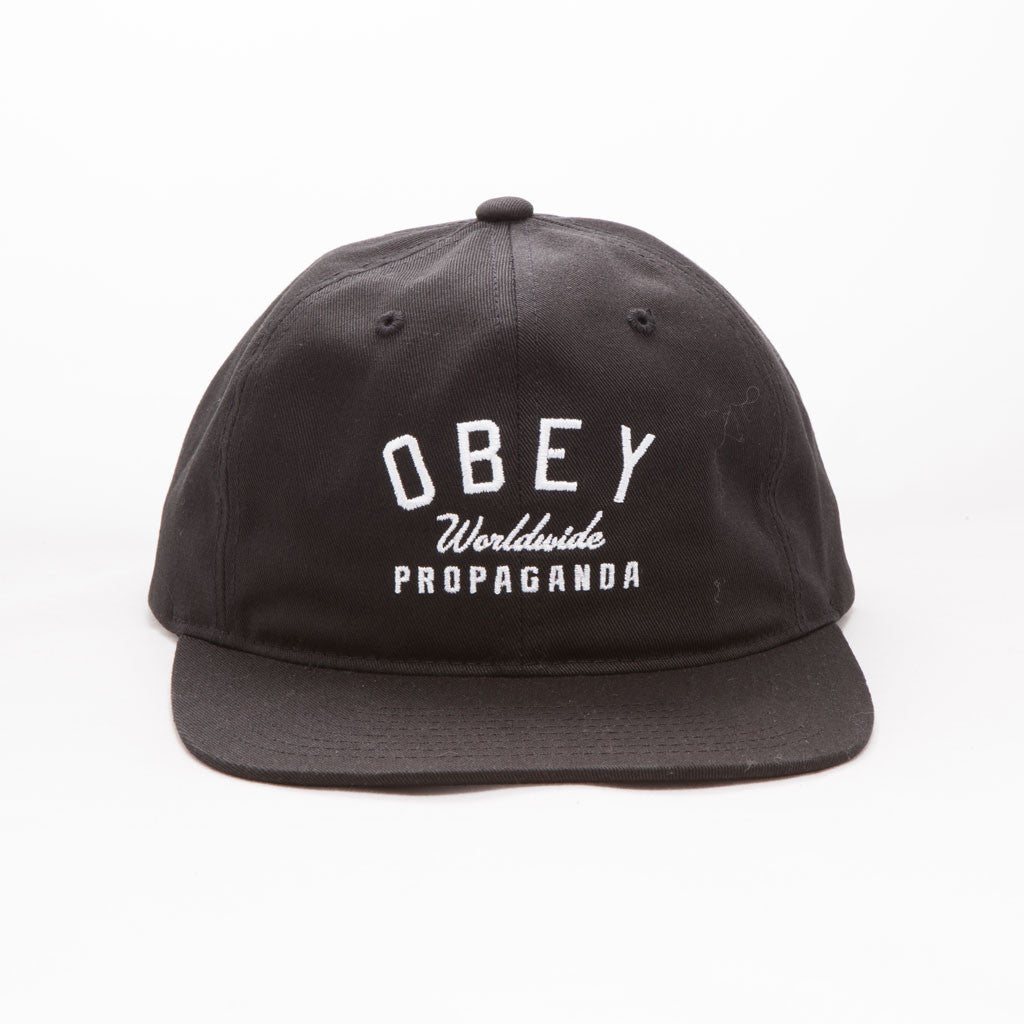 OBEY - Friday Men's Hat, Black - The Giant Peach