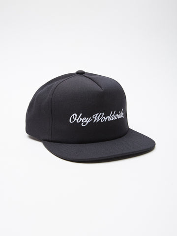 OBEY - Vista Men's Snapback, Black