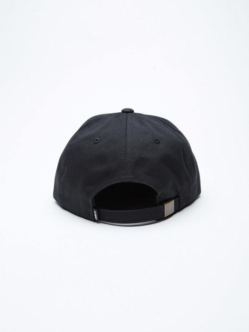 OBEY - Worldwide Seal Men's 6 Panel, Black - The Giant Peach