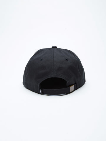 OBEY - Worldwide Seal Men's 6 Panel, Black