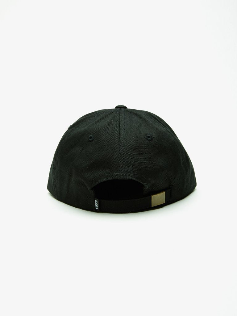 OBEY - Bad Brains Bolt Men's Hat, Black - The Giant Peach