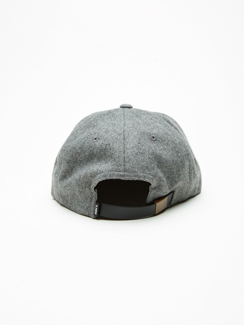 OBEY - Nineteen Eighty Nine Men's 6 Panel, Heather Grey/Black - The Giant Peach