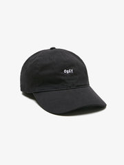 OBEY - Jumble Bar Men's 6 Panel Hat, Black - The Giant Peach