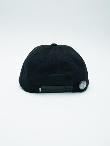 OBEY - Cutty 6 Panel Men's Snapback, Black